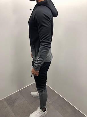 Костюм спортивный серого цвета, фото 2