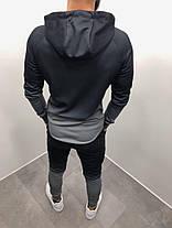 Костюм спортивный серого цвета, фото 3