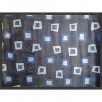 Нейлоновый коврик на резиновой основе 90*120см, синий