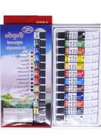 Фарби акрилові, 12 кольорів,6 мл