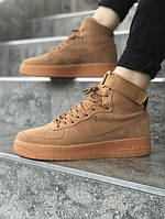 Кроссовки NIKE ,Nike Air Force  кроссовки серого цвета ТОП КАЧЕСТВО!!! Реплика, фото 1