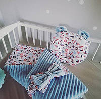 Комплект ковдрочка с ортопедической подушкой для ребенка