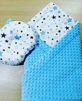 Детская ортопедическая подушка и ковдрочка для мальчика, фото 1