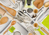 Кастрюли, миски, кухонные принадлежности и аксессуары оптом