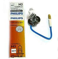 Автолампа PHILIPS H3 Premium CP 12V 55W 12336PRC1