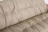 Кресло - банкетка LEON бежевый кожзам 155 см Nicolas (бесплатная адресная доставка), фото 4