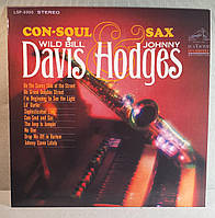 CD диск Wild Bill Davis and Jonny Hodges - CON-SOUL AND SAX