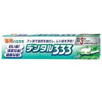 Зубная паста Lion 333 медикаментозная 150 гр.