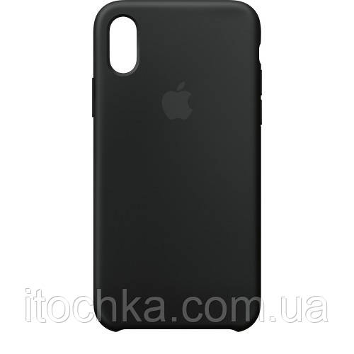 Silicone case for iPhone XS Max Black  (Copy)