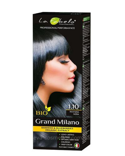 "La Fabelo Professional крем-краска для волос BIO Grand Milano 100 мл ""тон № 1.10"""