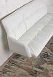 Кресло - банкетка LEON белый кожзам 155 см Nicolas (бесплатная адресная доставка), фото 8