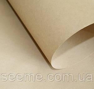 Бумага крафт упаковочная, 1 м, цвет крафт