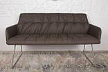 Кресло - банкетка LEON мокко кожзам 155 см Nicolas (бесплатная адресная доставка), фото 2