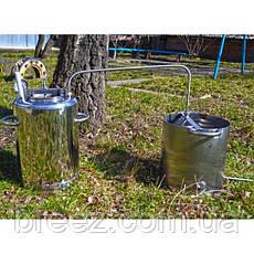 Автоклав Люкс 14 банок с открытым дистиллятором, фото 3