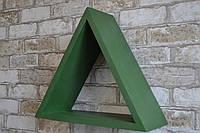 """Полиця """"Трикутник зелений""""Триугольник зелэный)"""