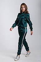 Спортивный женский костюм из стрейч атласа