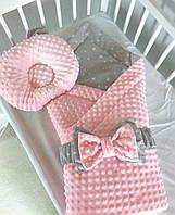 Одеяло детское зимнее minky