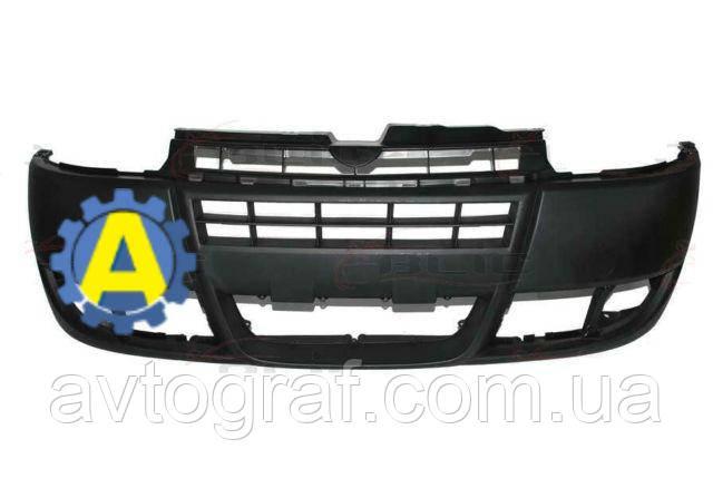 Бампер передний на Фиат Добло (Fiat Doblo) 2005-2009