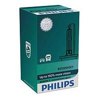 Ксеноновая лампа Philips D2R X-Treme Vision Gen2+150% More Vision 85126XV2C1