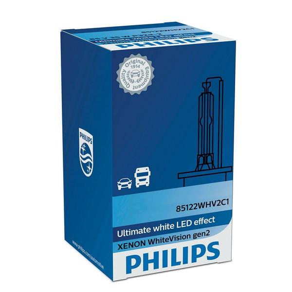 Ксеноновая лампа Philips D3S WhiteVision gen2 5000K (42403WHV2C1)