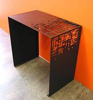 Стол журнальный в стиле лофт 23