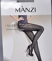 """Колготки женские """"Manzi"""" 200 den (4 цвета), фото 1"""