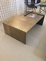 Стол журнальный в стиле лофт 26