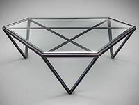Стол журнальный в стиле лофт 35