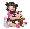 Силиконовая Коллекционная Кукла Реборн Reborn Девочка ( Виниловая Кукла ). Арт.11191