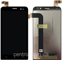 Дисплей (экран) для Asus ZenFone Go (ZB552KL) 2017 + тачскрин, цвет черный