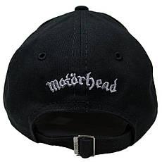 бейсболка MOTORHEAD лого (3D вышивка), фото 3