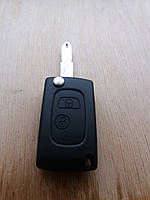 Корпус выкидного ключа для CITROEN (Ситроен) 2 - кнопки переделка с прямого на выкидной.