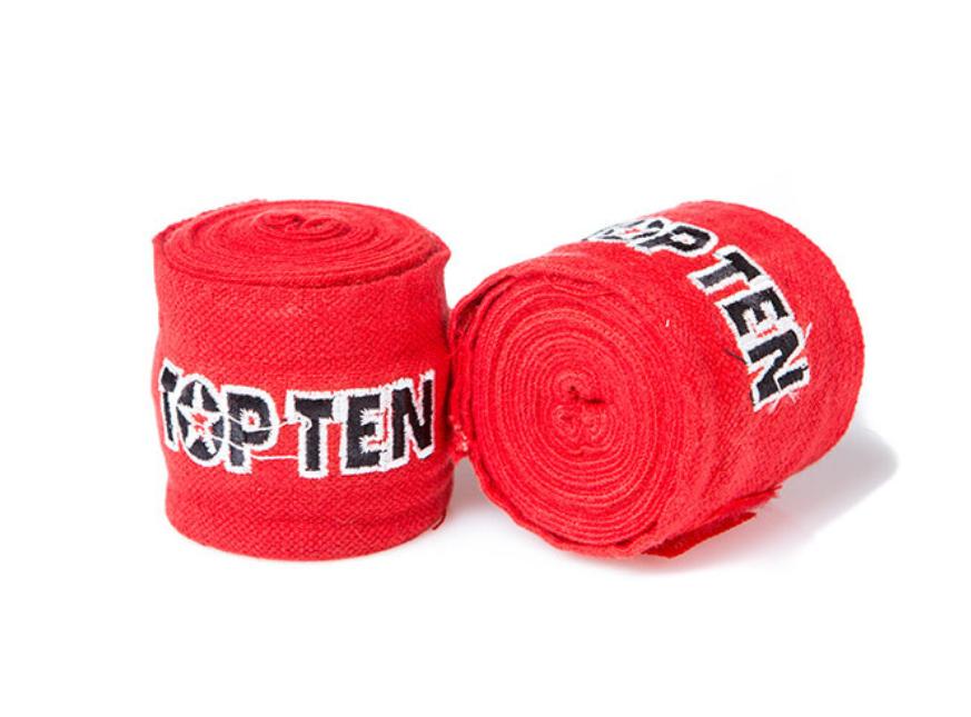 Бинты боксерские хлопок TopTen 4 метра