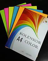 Набор цветной бумаги 80 г/м «НЕОН» mix