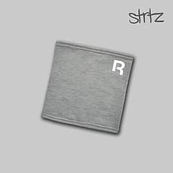Теплый горловик Reebok серого цвета  (люкс копия)