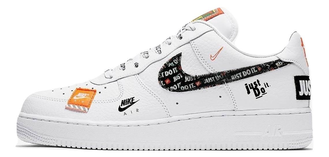 a8d79ffd Кроссовки мужские Nike Air Force 1 Low Just Do It Pack White -  Интернет-магазин