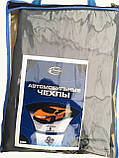 Майки (чехлы / накидки) на сиденья (автоткань) Kia Carens III (киа каренс 2006-2012), фото 4