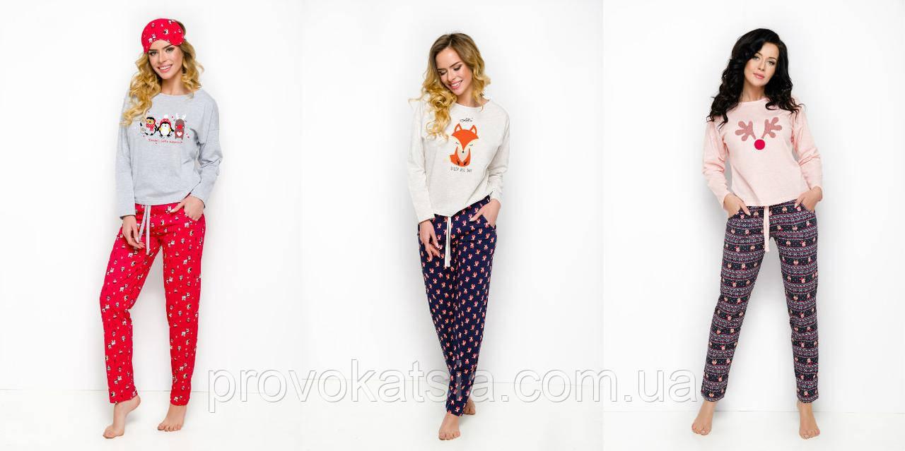 b16d222354e3d Женская пижама с принтом Nadia 1190 Taro - Интернет-магазин эротического и  нижнего белья