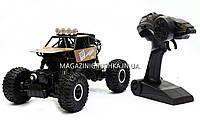 Автомобиль джип на пульте управления Sulong Toys 1:18 Off-Road Crawler Super Speed Металлический Коричневый