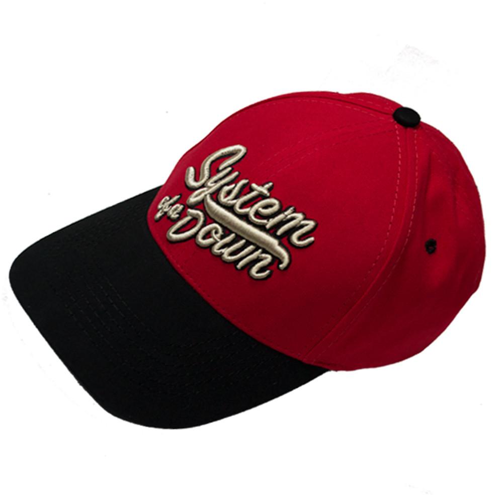 бейсболка SYSTEM OF A DOWN лого (3D вышивка)