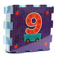 Игровой коврик-мозаика «Вагончик с рисунками» M 2614, фото 1
