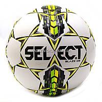 Мяч футбольный SELECT Blaze DB желто-белый - 4