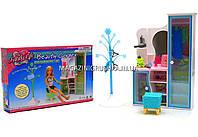 Детская игрушечная мебель Глория Gloria для кукол Барби Гардероб 2809. Обустройте кукольный домик, фото 1