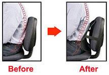 Упор массажный для спины: подходит в офисное кресло и в авто, фото 3