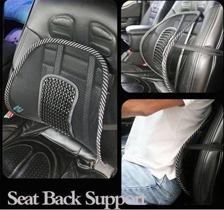 Упор массажный для спины: подходит в офисное кресло и в авто, фото 2