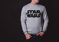 Мужская зимняя кофта серая Star Wars