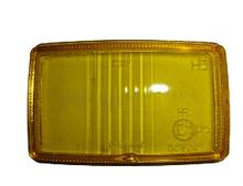 Скло на фару дальнього світла Wesem HM1 138Х78 мм жовте HSJ/005 HM1 HR
