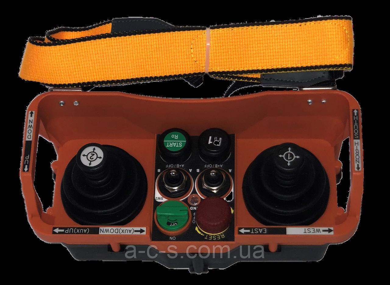 Система керування вантажопідіймальним краном SAGA Crystal Series | SAGA Joystick Series | Установка