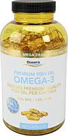 Биологически активная добавка Ocean's Essentials Omega - 3 1000mg 18% EPA / 12% DHA, 300 шт.