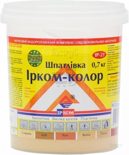 Шпаклівка для дерева IP-23 Ircom Decor Ясен 700 г